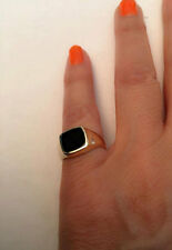 Signet Ring, women ring, men ring, Pinky ring, Onyx Ring. Silver Signet Ring