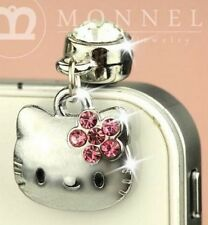 Cute Kawaii Hello Kitty Phone Charm Plug Anti-Dust for 3.5 mm Earphone Jack