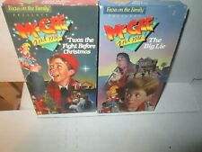 LOT OF 2 MCGEE AND ME! vhs rare Set TWAS THE FIGHT BEFORE CHRISTMAS & BIG LIE