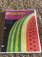 Mills Melon Bell  Advertising Flyer   Reprint