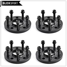 4Pc 20mm Saab 9-3 9-5 Hub Centric Wheel Spacers 5x110 CB65.1 with M12x1.5 bolts