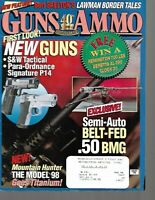 Guns & Ammo Handguns Magazine January 1998 New Guns, Para Ordnance Signature P14
