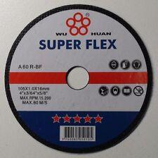 """4"""" 100MM ULTRA THIN METAL CUTTING DISCS , BLADES X 50,  CUTTING MILD STEEL"""
