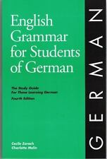 ENGLISH Grammar: English Grammar for Students of GERMAN : A Study Guide for...