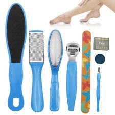 8Pcs Pedicure Kit Rasp Foot File Callus Remover Scraper Nail Care Tools