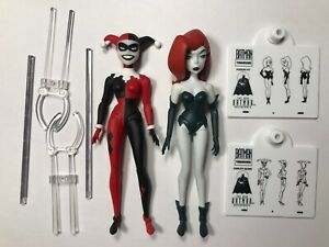 DC Collectibles New Batman Adventures Harley Quinn & Poison Ivy Loose