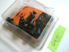 """Dorman 799-100 Grille Retainer Black Nylon Rivets 5/16"""" - 11 Pieces"""