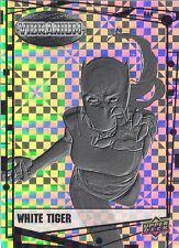 2015 Upper Deck Marvel Vibranium Bar Parallel Card 67 White Tiger 5/5 RARE! MINT