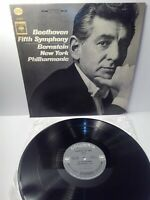 Record - Beethoven - Symphony No. 5 - New York Philharmonic - Vinyl Album LP