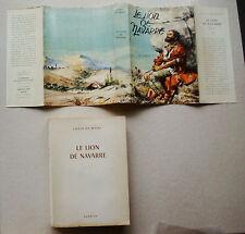 Le Lion de Navarre L De WOHL & JOUBERT Signe de Piste éd Alsatia 1956