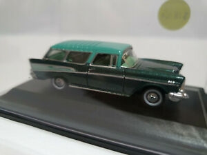 Oxford Diecast 87CN57006 Chevrolet Nomad 1957 Surf Green/Highland Green 1/87