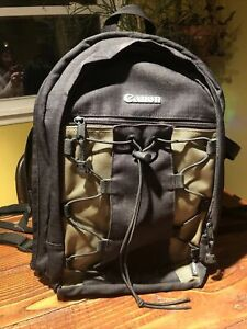 Genuine Canon 200EG Deluxe Backpack Bag For Camera DSLR SLR Lens Nonsmoking Shop