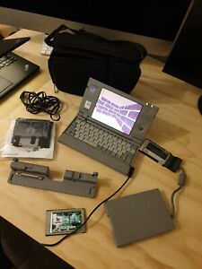 Toshiba Libretto 50CT + Accessories - Vintage Portable Computer -Faulty Keyboard