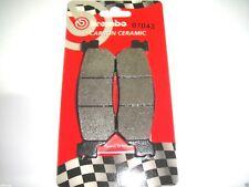 PASTIGLIE FRENO POSTERIORI BREMBO CARBON CERAMIC 07043 YAMAHA X-MAX ABS 250 2013