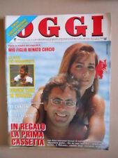 OGGI n°30 1990 Albano Rimona Power Oriana Fallaci Bud Spencer Rivera [G52B-1]