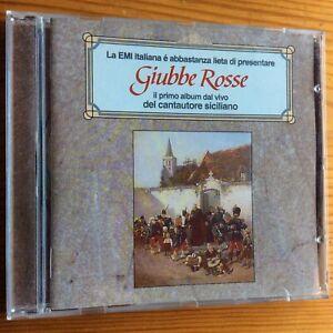 Franco Battiato - Giubbe Rosse CD Remastered 2001
