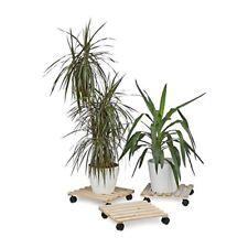 Relaxdays Porte Plantes À roulettes Support pour Pot de Fleurs en