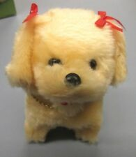 VINTAGE LITTLE CHARMY PUPPY BATTERY OPERATED DOG TOY ITEM #8681 HONG KONG