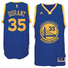 Kevin Durant Dorado Estado Warriors adidas Azul Swingman Camiseta Grande Nwt