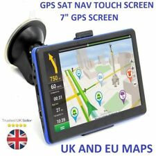 7 inch Car Truck GPS SAT NAV satellite navigation System Navigator 8GB UK SALE