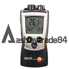 Testo 810 Pocket Pro IR/Ambient Thermometer Air & Oberflächentemperatur Messgerät NEU