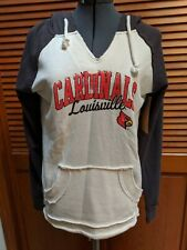 Louisville Cardinals Women's Medium Raglan Hoodie NWT