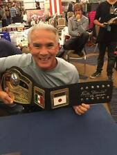 NWA World Title Signed by Ric Flair, Tommy Rich, Jim Cornette Ricky Steamboat &
