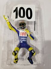 Minichamps Valentino Rossi 1/12 Model on Lookout Moto Yamaha M1 Assen 2009 New