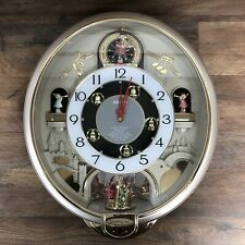 Seiko Charming Bell Melodies in Motion Animated Wall Clock QXM321SRH