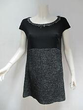 OTTOD'AME abito donna smanicato mod.DA2280 col.NERO tg.42 inverno 2013