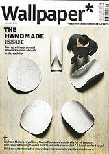 WALLPAPER MAGAZINE August 2013 THE HANDMADE ISSUE Richard Meier RON GILAD @NEW@