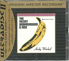 Velvet Underground & Nico MFSL Gold CD Neu OVP Sealed UDCD 695 mit J-Card