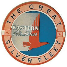 Eastern Airlines airline label sticker    Vintage Looking 1950's Travel Decal