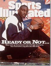 June 26, 1995 Kevin Garnett, Minnesota Timberwolves Sports Illustrated A