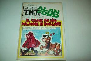 GRUPPO TNT-ALAN FORD-MAGNUS&BUNKER-NUMERO 18-CANE DA UN MILIONE-EDITORIALE CORNO
