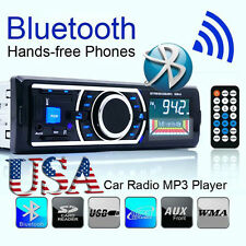 Auto Car Bluetooth Stereo Audio In-Dash FM Aux Input Receiver SD USB MP3 Radio