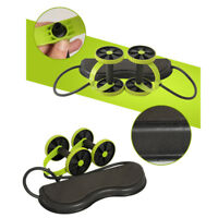 Double Wheel Abdominal Muscle Exercise Equipment Home Fitness Roller Waist Gym