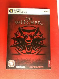 The Witcher PC DVD GAMES FOR WINDOWS  Complete with Manual
