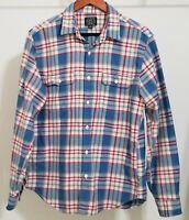 J.Crew Mens Plaid Shirt Multicolor Long Sleeves Button Down Size M