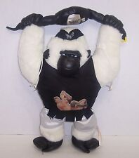 """The Rock""  WWF Cuddletown Friends Plush Gorilla 18"" Action Figure WCW WWE {669}"