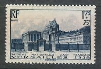 France 1938 MNH Mi 422 Sc B70 Palace of Versailles ** King's Grand Apartments