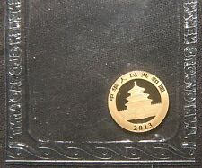 "2013 20 YUAN GOLD PANDA COIN  ""SEALED""  AGW=0.050 LOT 120259"