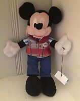Authentic Disney Parks Mickey Mouse Cruise Director Stuffed Animal Disney Parks