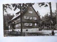 Ansichtskarte Alpenvereinshütte am Torfhaus 1952
