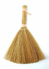 8.5 Inch Craft Natural Straw Brooms 12 Pieces