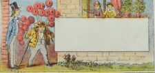 1880's-1890's Man w/ Balloons The Times Newville, Penn. Victorian Trade Card P49
