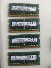32GB DDR3 Laptop RAM Samsung 4x8GB Memory PC3L 12800 LOT 8GB So-DIMMs Sticks