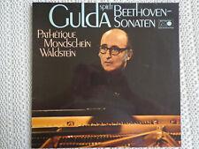 Gulda spielt Beethoven-Sonaten - Pathétique - Mondschein - Waldstein - LP