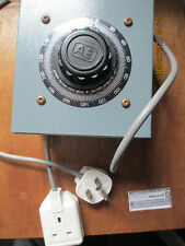 Dimmerstat Continuosly Variable Voltage Transformer