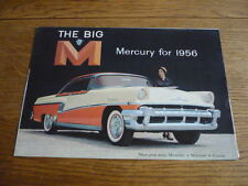 MERCURY RANGE CAR BROCHURE, 1956 USA